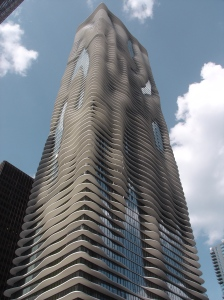 """Aqua Tower Chicago"" by George Showman - http://www.flickr.com/photos/gshowman/3668250139/. Licensed under CC BY 2.0 via Wikimedia Commons - https://commons.wikimedia.org/wiki/File:Aqua_Tower_Chicago.jpg#/media/File:Aqua_Tower_Chicago.jpg"